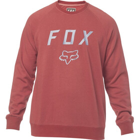 Fox Legacy Crew Fleece Pullover Men bordeaux